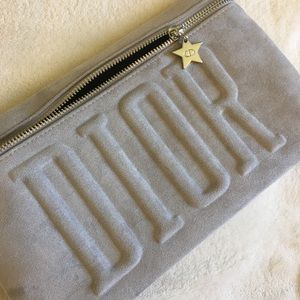 Dior Trousse Pouch Grey